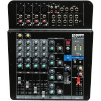 Samson MXP124FX - MixPad Compact, 12-Channel Analog Stereo Mixer with