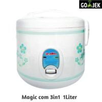 Niko Magicom / Rice Cooker 1Lier 3in1 Masak Ngukus Penghangat