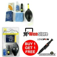 NIKON CLEANING KIT PEMBERSIH CAMERA LENSA HP LCD LAPTOP MONITOR