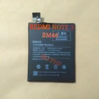 Batre Baterai Batrei Xiaomi Redmi Note 3 / Pro Original Battery BM46