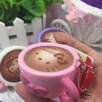 Cute Hello kitty Squishy Cup Coffee