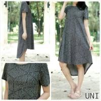baju wanita original uniqlo black, pakaian wanita, blouse, dress