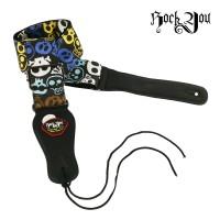 Strap Gitar Bonus Pick Rock You S-1105A Tali Gitar / Sabuk Gitar