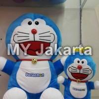 Jual Boneka Doraemon 2 in 1 (dapat 2 pcs Boneka Doraemon Jumbo dan Baling) Murah
