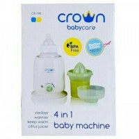 Jual Crown 4in1 Bottle Warmer Sterilizer 4 in 1 Penghangat Botol Susu ASI Murah