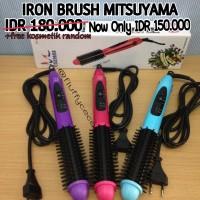 Jual Iron brush mitsuyama, catokan sisir blow, catok murah Murah