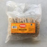 Jual Yona Beef Patties / Daging Burger 1kg Murah