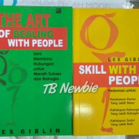 Skill with people + the art of dealing with people