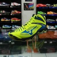 Sepatu Voli Mizuno Wave Lightning Z3 Mid Citr Professional Asic Volley
