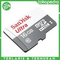 harga Sandisk Ultra 16gb Class 10 (48mb/s) Microsdhc Micro Sd Card Tokopedia.com