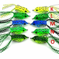 8 Gram Soft Rubber Frog Lure With Hook/Umpan Pancing Kodokdengan kail