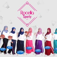GROSIR Rok Celana Olahraga Muslimah || Rocella Sporty (S/M/L/XL)