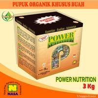 Jual Power Nutrition Nasa Pupuk Organik Khusus pembuahan kemasan 3 kg Murah