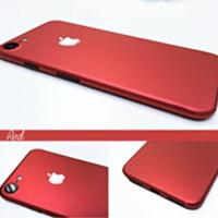 Jual Decal Skin Stiker iPhone Red Edition/Merah Murah