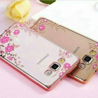 Cover Hp SAMSUNG GALAXY A5 2015 A7 2015 A8 Flower Diamond Case