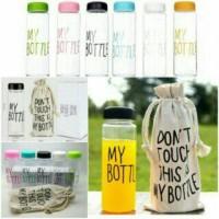 Jual My Bottle Infused Water 500ml + Pouch / Tersedia Juga Termos Animal Murah