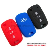 Kondom Kunci Silikon Cover Remote KIA Rio Sportage Picanto Murah