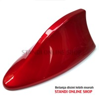 Antena Sirip Hiu Shark Fin Antenna New Mazda 2 RED SOUL