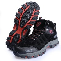 Sepatu Boot Gunung/Hiking SNTA 467 Black Red