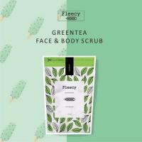 Jual [GREEN TEA] - FLEECY SCRUB FACE N BODY Diskon Murah
