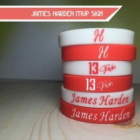JAMES HARDEN MVP SIGN WRISTBAND GELANG NBA BASKETBALL THE BEARD