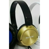 Headset / Headphones Sony Monitoring MDR-ZX300 AP - Gold / Emas