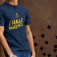 Kaos Distro Real Madrid / Hala Madrid Navy