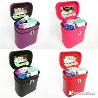 PROMO - Tas Kosmetik Tempat Makeup Beauty Case Box Make Up Case