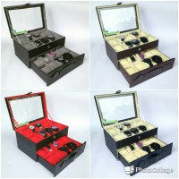 Kotak Jam Tangan isi 20 JUMBO / Box Tempat Jam Tangan / Watch Box
