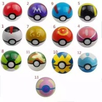 Pokeball 1 Warna Pokemon Figure Pokemon Mainan Bayi Kamera Baju Bayi