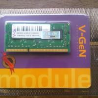 Memory RAM V-Gen DDR3 2GB PC-10600/1333 So-Dimm (Untuk Laptop)