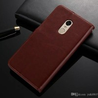 Leather Flip Cover Wallet Xiaomi Redmi Note 4 PRO Case HP dompet kulit