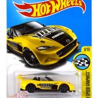 '15 Mazda MX-5 Miata KUNING / YELLOW VOLK - Hot Wheels HW Hotwheels