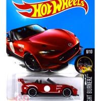 '15 Mazda MX-5 Miata MERAH / RED - Hot Wheels HW Hotwheels