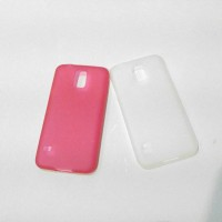 Soft case Samsung Galaxy S5 tipis semi transparan