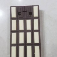 case casing cover blackberry onyx 1 hp cute lucu unik chocolate bar