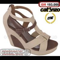 harga Sepatu Sandal Cewek Gaya Tali Fashion Casual Gaul Santai Wedges Wanita Tokopedia.com