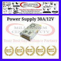 Jual POWER SUPPLY CCTV JARING+KIPAS 30A/12V Murah