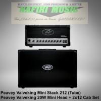 Peavey Valveking Mini Head / Peavey Valveking Micro Head II + 2x12 Cab