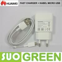 [ORIGINAL] Fast Charger Huawei Original + Micro USB Honor 7i Mate 8