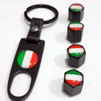 Tutup Pentil Bendera Italia Dengan Kunci Anti Maling