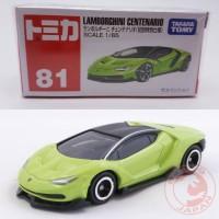 Miniatur Mobil Lamborghini Centenario Hijau Tomica 81 Lamborghini