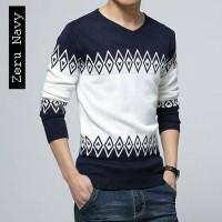Jual Kaos Rajut Pria / Sweater Rajut Korea / Baju Rajut Murah / Grosir Baju Murah