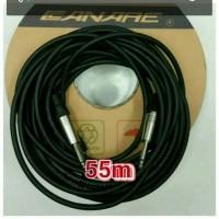 kabel gitar kabel mic kabel audio mixer 55M kbl CANARE Jack akamono
