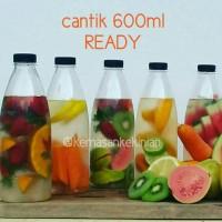 Botol Cantik 600ml 84pcs Ttp Htm