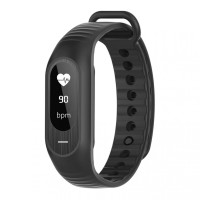 SKMEI B15 Smart Watch Smartwatch Indonesia Fitness Tracker Hitam