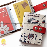 Jual CARD HOLDER/DOMPET KARTU KREDIT/CARDHOLDER/SHABBY ANCHOR SAILOR JANGKA Murah