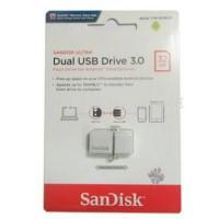 SCANDISK FLASHDISK DUAL USB OTG 32GB DRIVE 3.0