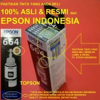Tinta Botol Epson T664 untuk L100 L110 L200 L210 L300 & L350