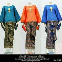 Baju Wanita Setelan Kebaya Batik Modern Cempaka Etnik